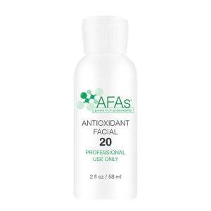 AFAs Professional Antioxidant Facial gir en individualisert behandling av fotopigmentert hud for alle hudtyper – normal til tørr eller mild følsom hud.