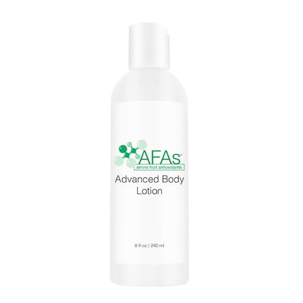 AFAs Targeted Solutions Advanced Body Lotion er en kraftig behandling som forbedrer fuktighetsretensjon, elastisitet og hudtekstur på solskadet hud – for alle hudtyper.